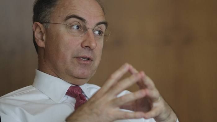 Xavier Rolet, CEO of the London Stock Exchange.