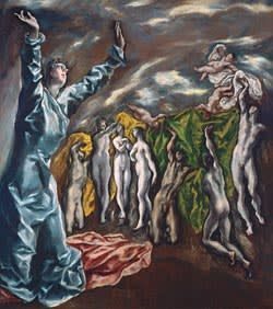 El Greco's 'The Vision of St John'