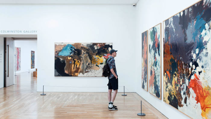 Gillian Ayres exhibition at National Museum Cardiff