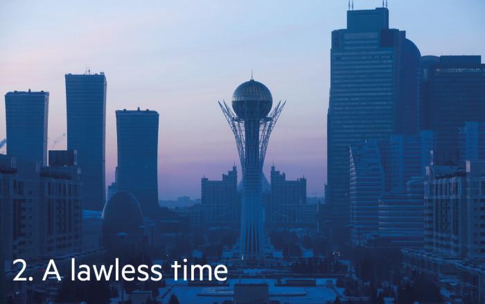 Astana, the Kazakh capital