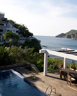 Four-bedroom home in Taganga