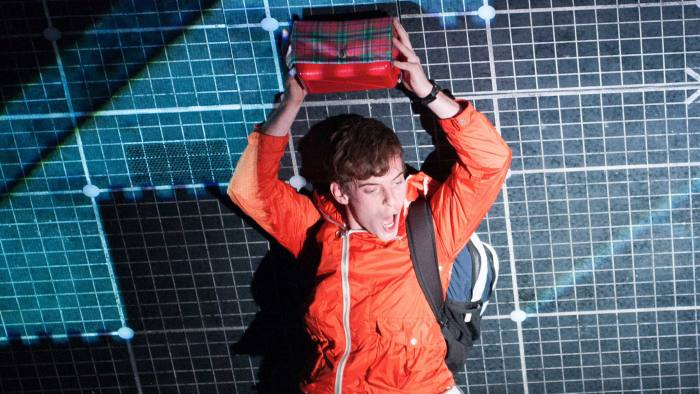 the curious incident of the dog in the night time national theatre  luke treadaway as christopher boone in the curious incident of the dog in the  night time  ft