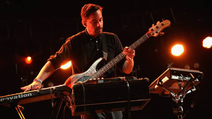 Simon Green — stage name Bonobo — in performance