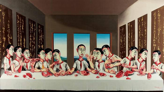 'The Last Supper' (2011) by Zeng Fanzhi