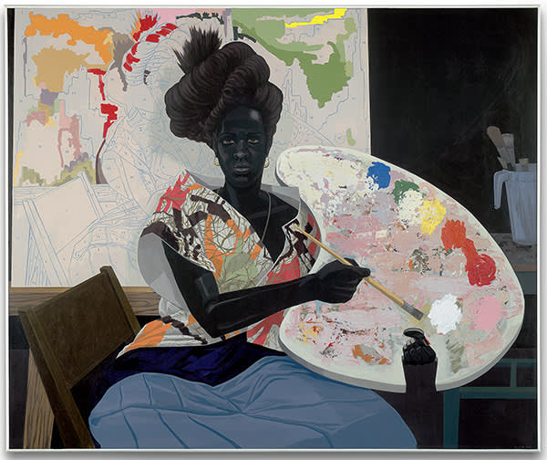 Kerry James Marshall's 'Untitled' — from the Painters series, 2009