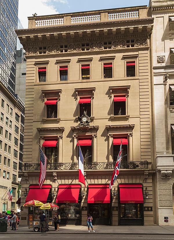 Cartier on Fifth Avenue