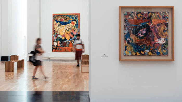 Gillian Ayres exhibition at National Museum of Wales, Cardiff