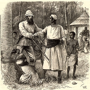 Jack Speke, who, with Burton, went to find the source of the Nile