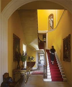 Staircase at Sibton Park