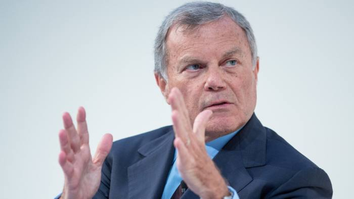 Martin Sorrell, chief executive officer of WPP Plc., gestures while speaking at the Confederation of British Industry (CBI)annual conference in London, U.K., on Monday, Nov. 21, 2016. The U.K.'s main corporate lobby is urging the government to clarify what happens on the day after Brexit, seeking to ensure that business isn't left dangling if the country is unable to strike new trade deals before it leaves the European Union. Photographer: Jason Alden/Bloomberg
