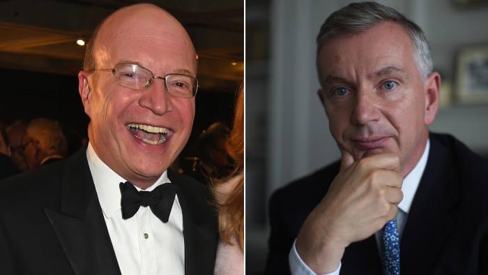 Veteran bankers Simon Warshaw (left) and Simon Robey