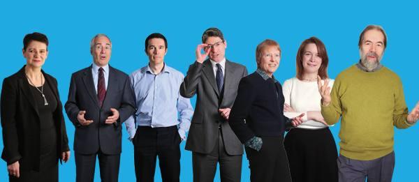 Economists Diane Coyle, Nick Stern, John Van Reenen, Jonathan Haskel, Kate Barker, Gemma Tetlow and Simon Wren-Lewis