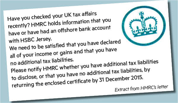 Jersey account holders receive final UK tax warning