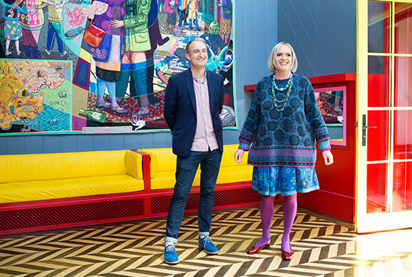 Charles Holland and Grayson Perry