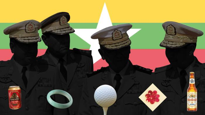 Myanmar: the military-commercial complex   Financial Times