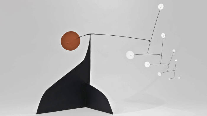 Calder's 'Red Disc - White Dots'