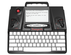 A Hemingwrite