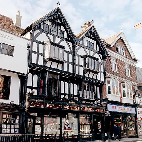 Holmeses's Tudor shop