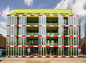 BIQ House in Hamburg features a bioreactor façade