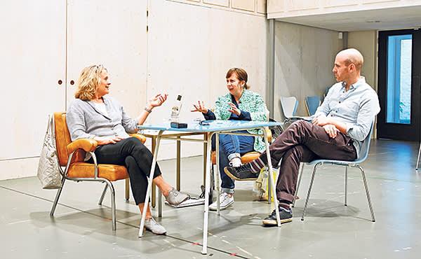 'Splendour' star Sinéad Cusack, writer Abi Morgan and director Robert Hastie