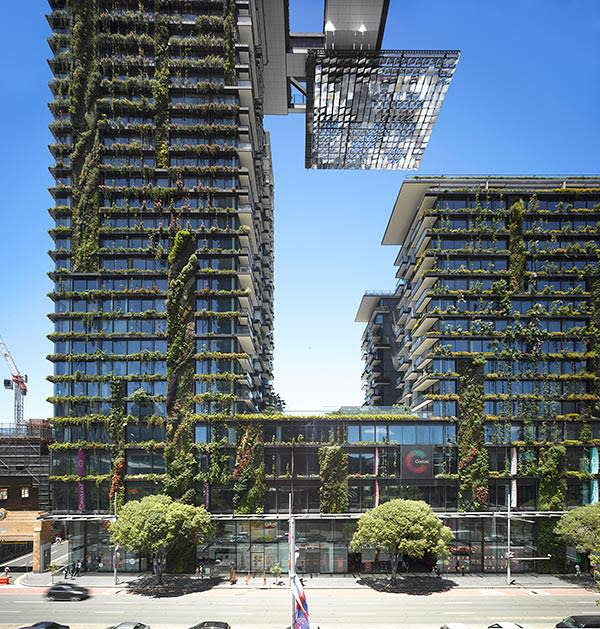 Jean Nouvel's One Central Park in Sydney