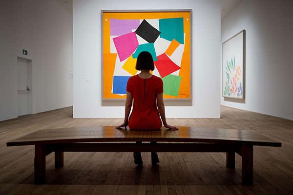 'Henri Matisse: The Cut Outs' at Tate Modern in 2014