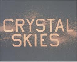 'Crystal Skies'  (2013) by Ed Ruscha