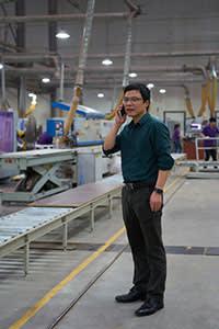 Li Gan, general manager of Shangpin Home Collection, Foshan