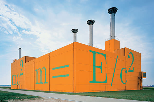 William Verstraeten: The Dutch artist's design for a short-term waste site at Vlissingen, Holland includes a museum and exterior paint that fades as the waste cools