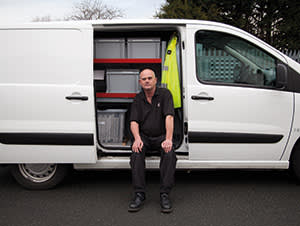Steve Priest, West Midlands crime scene co-ordinator