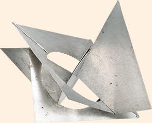 Bicho Pássaro do Espaço' (1960) by Lygia Clark, at Alison Jacques Gallery