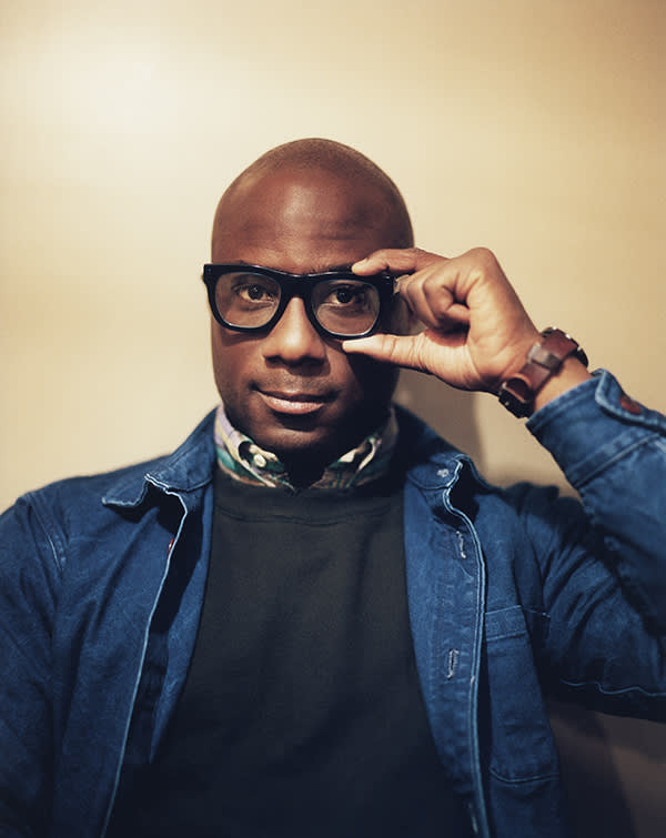 Moonlight film director Barry Jenkins photographed in London by Pani Paul