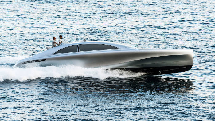 Boats by Bugatti, Aston Martin, Lexus and Mercedes make a splash