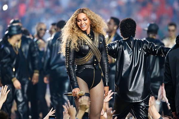 Beyoncé (@beyonce) at this year's Super Bowl