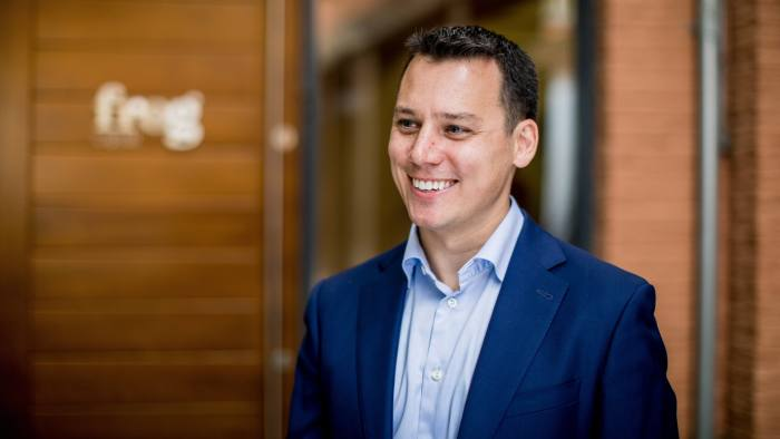 Work and Careers - Joe Krancki, a London Business School graduate who is now a partner at Frog Capital from PR