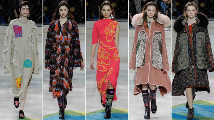 Peter Pilotto Fall Winter 2017 London Fashion Week