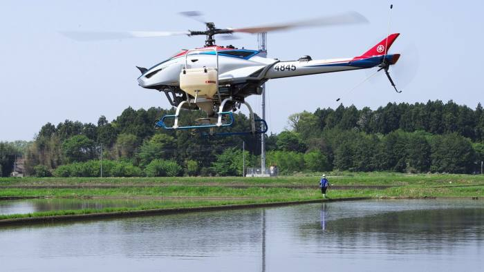 Yamaha aims to unlock US and EU markets with agricultural drone