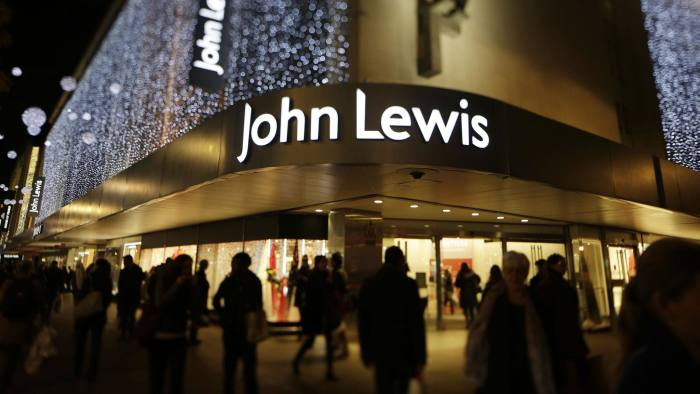Black Friday Breaks Records At John Lewis Financial Times
