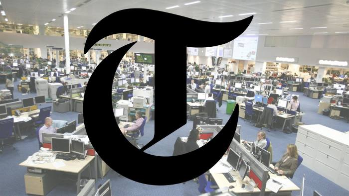 The Daily Telegraph newsroom. Commissioned for Media