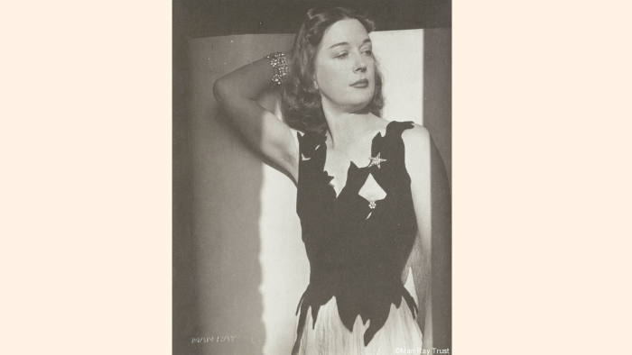 Dorothea Tanning, photographed by Man Ray in 1942