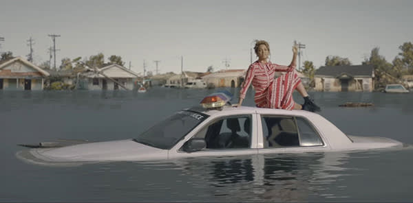 A still from Beyoncé's 'Formation' video