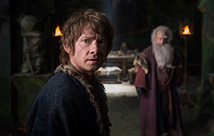 Martin Freeman in 'The Hobbit: The Battle of the Five Armies' (2014)
