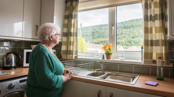 Survivor: Pat in her kitchen in Aberfan