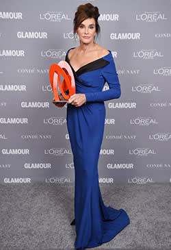 Caitlyn Jenner at the 2015 Glamour Women of the Year awards
