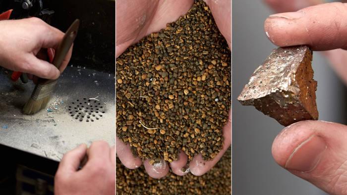 Hockley Mint, Birmingham, company reclaims precious metal.