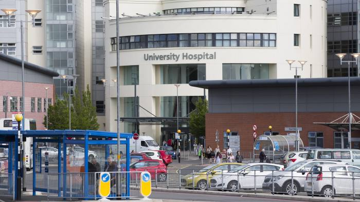 Coventry election story. University Hospital, Coventry. Words: Josh Chaffin.