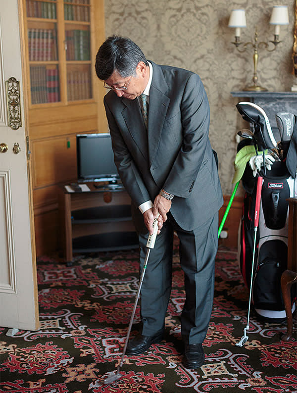At Home with Koji Tsuruoka, Japan's new ambassador in London