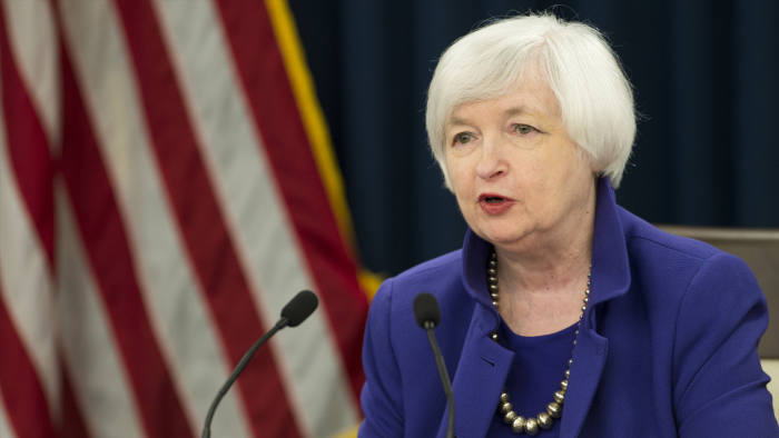 Janet Yellen Fed rates rise