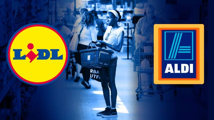 Aldi and Lidl step up battle with US grocers | Financial Times