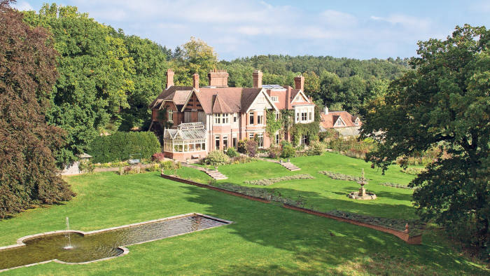 Nalder Hill House, which includes three cottages and five acres of land, £2.95m